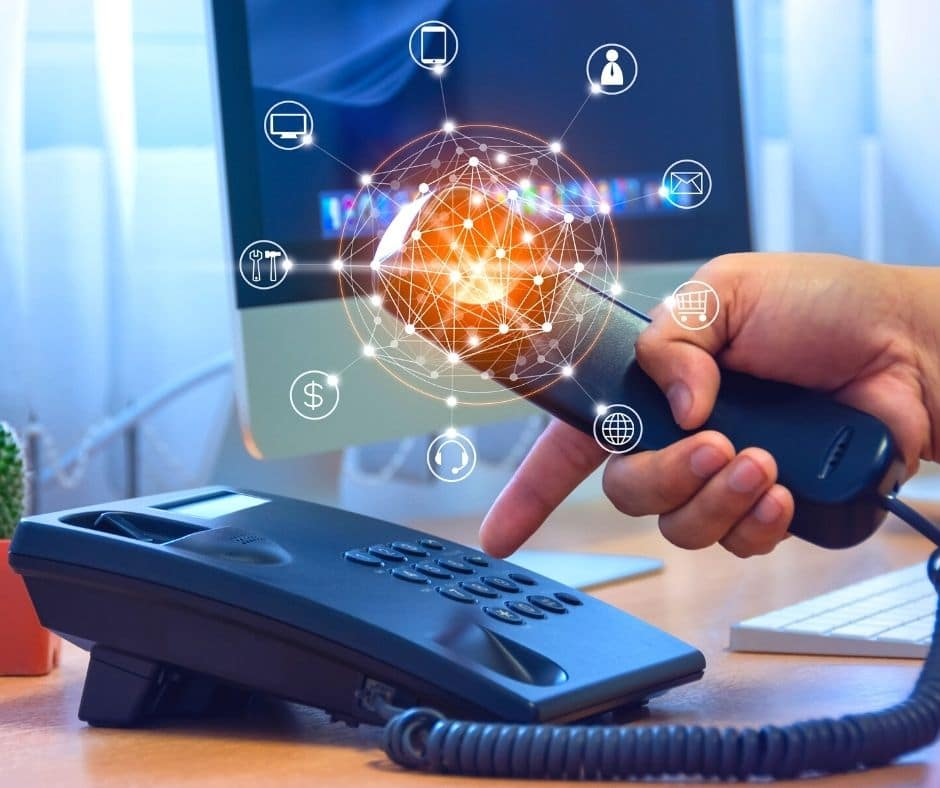 What Is The Difference Between Cloud, Hosted And VOIP Telephony? Acrylic IT Local Cheshire Business Support